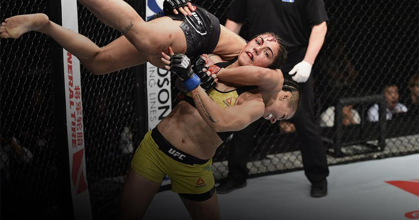 Jessica Andrade vs. Jessica Eye