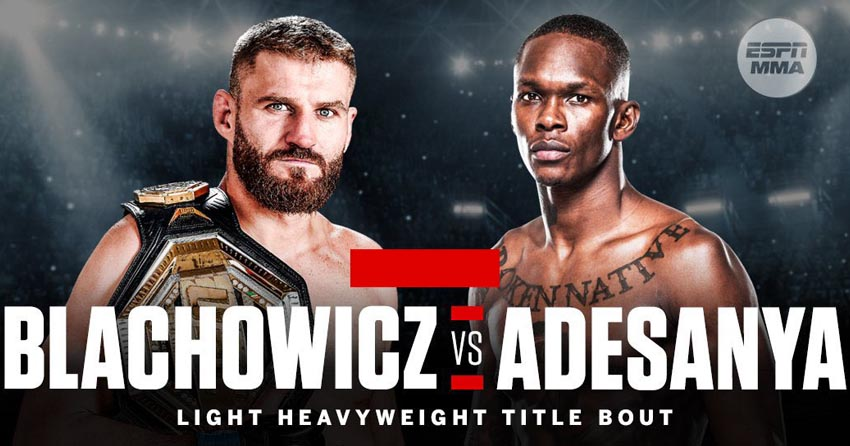 Jan Blachowicz vs. Israel Adesanya