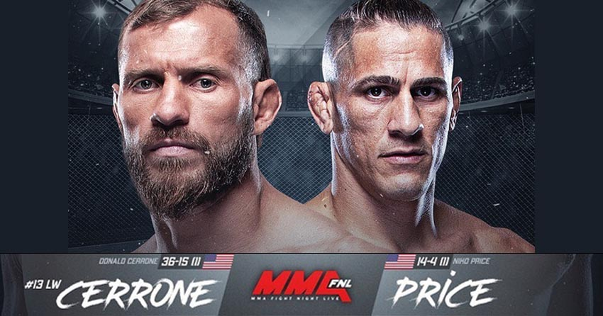 Donald Cerrone vs. Niko Price