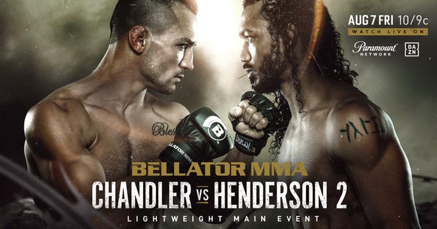 Michael Chandler vs. Benson Henderson
