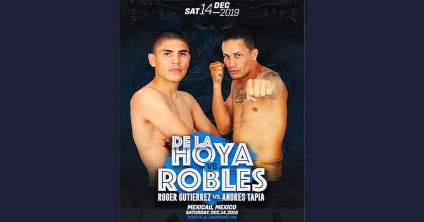 Renson Robles next fight