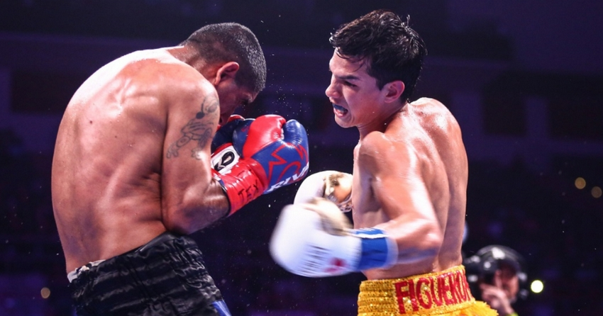 Brandon Figueroa's last fight
