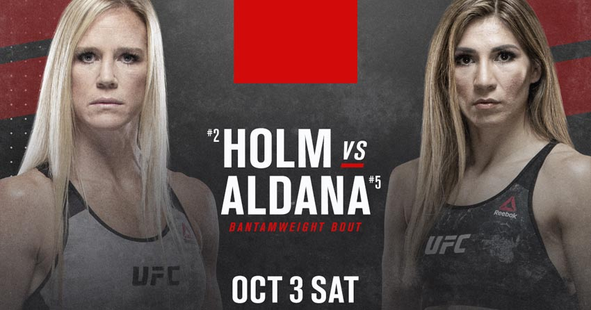 Holly Holm last fight
