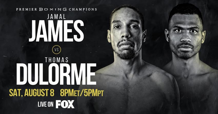 Jamal James vs. Thomas Dulorme