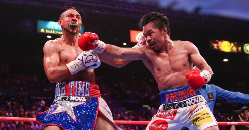 Manny Pacquiao beats Keith Thurman