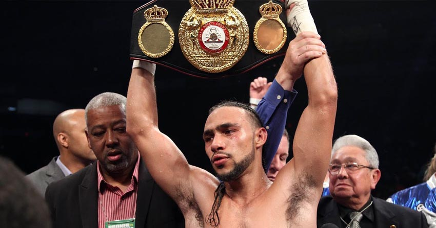 World welterweight champion Keith Thurman