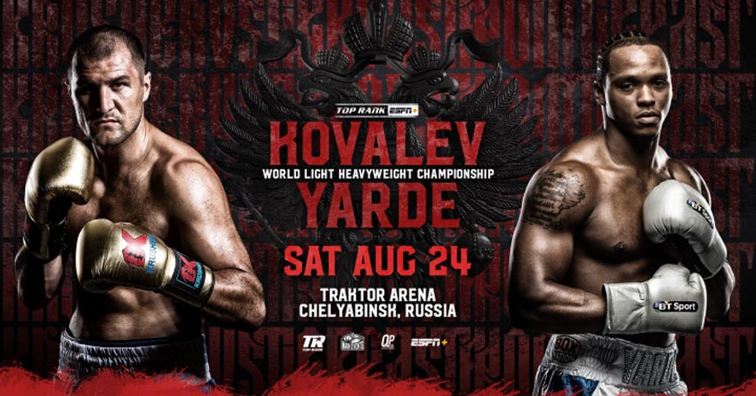 Sergey Kovalev vs. Anthony Yarde