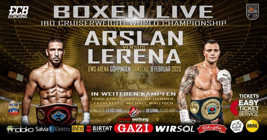 Kevin Lerena last fight