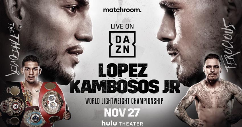 George Kambosos Jnr's next fight