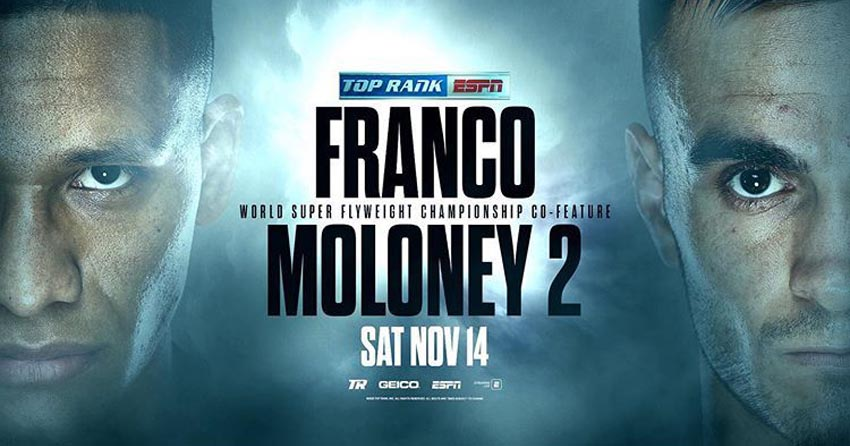Andrew Moloney last fight