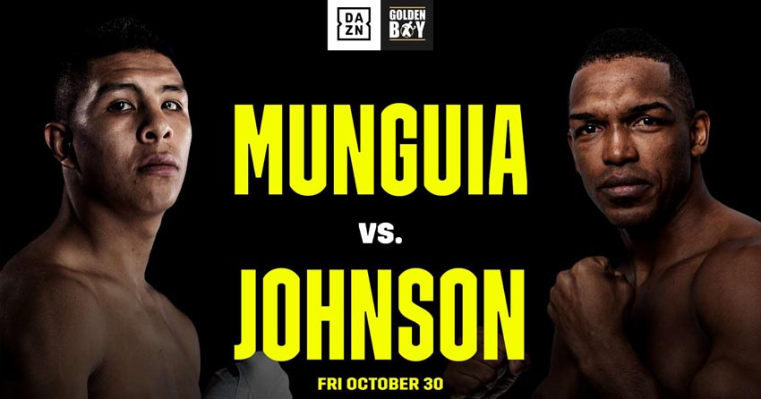 Jaime Munguia vs. Tureano Johnson