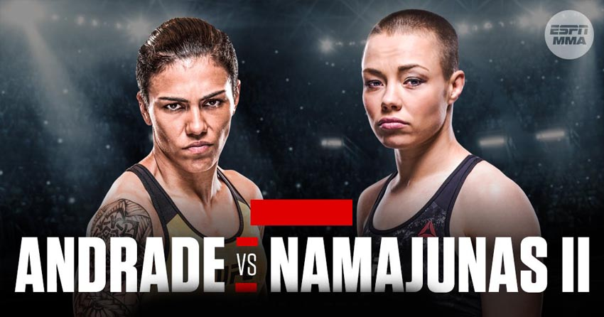 Rose Namajunas last fight