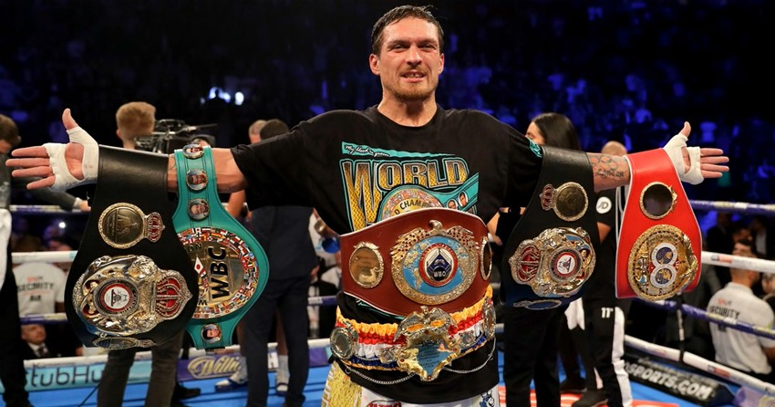 Oleksandr «The Cat» Usyk