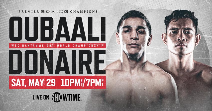 Nordine Oubaali's next fight