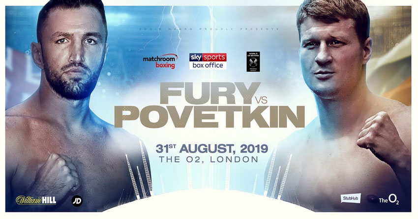 Hughie Fury last fight
