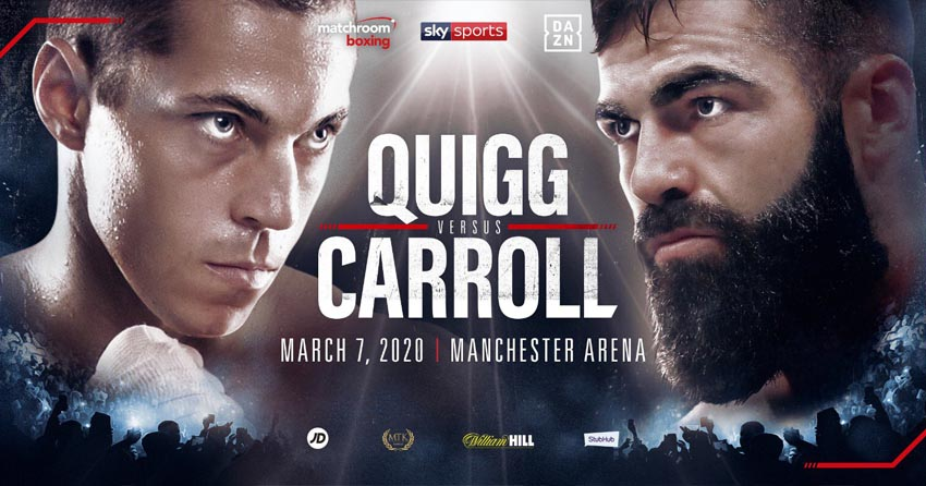 Jono Carroll last fight