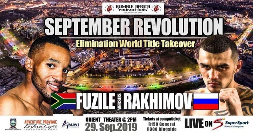 Azinga Fuzile last fight
