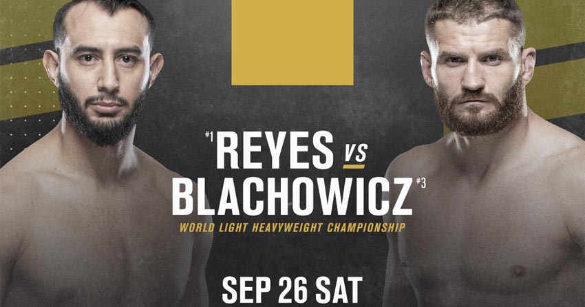 Jan Blachowicz's last fight