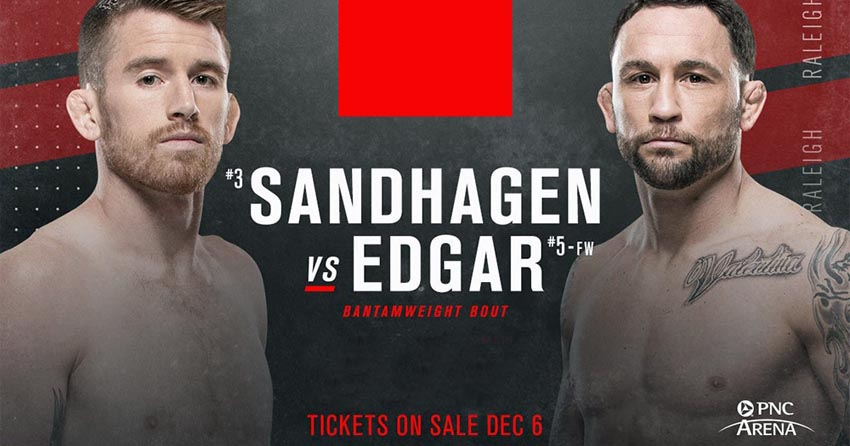 Frankie Edgar's last fight