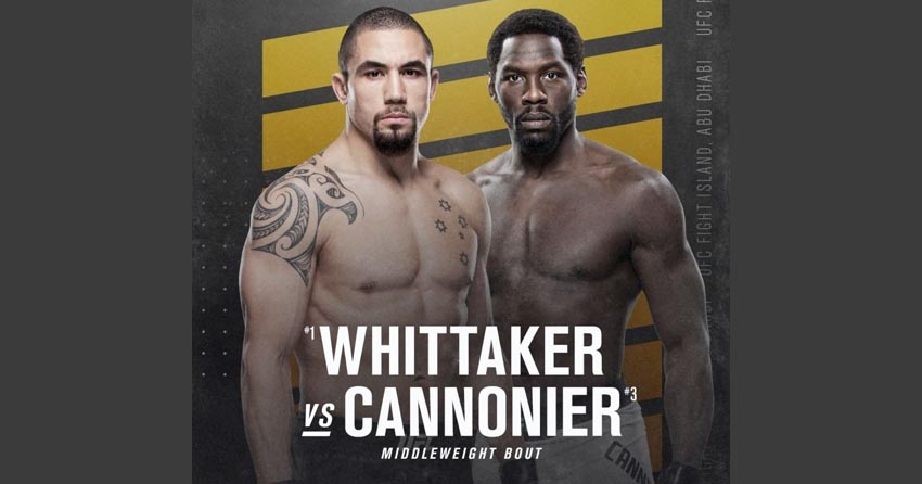 Robert Whittaker vs. Jared Cannonier