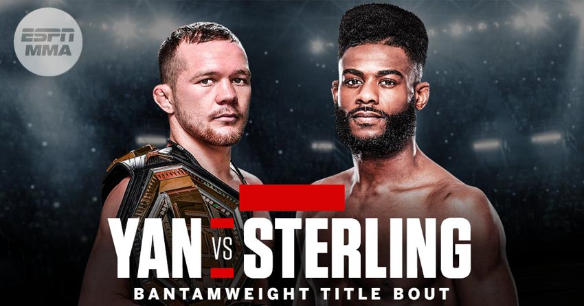 Aljamain Sterling's last fight
